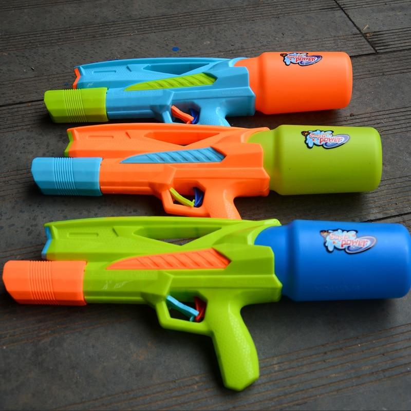 Sale 1PCS Child Water Gun Shooting Pistol Kids Summer Toy Baby Beach Water Gun New Boys Toys Outdoor Sports Game Bathroom Toys