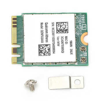 Dwupasmowa bezprzewodowa karta sieciowa QCNFA344A WiFi dla układu scalonego Bluetooth Model Wirefree dla systemu Windows nowość tanie i dobre opinie VBESTLIFE 300 mbps Wewnętrzny wireless ETHERNET Laptop 802 11ac Other NGFF 2 4G i 5G 1200 mbps Dual-Band