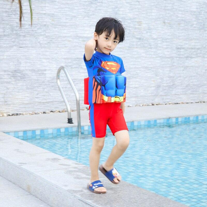 Children Buoyancy Tour Bathing Suit CHILDREN'S Baby Bathing Suit GIRL'S Girls Infant BOY'S One-piece Floating Bathing Suit Swimw