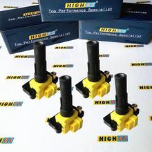 Bobinas de encendido compatibles con SUBARU Impreza Forester Wrx Sti Outback Legacy Gt EJ255 EJ257, paquetes de bobina Turbo 22433 AA480 22433 AA540 FK0186
