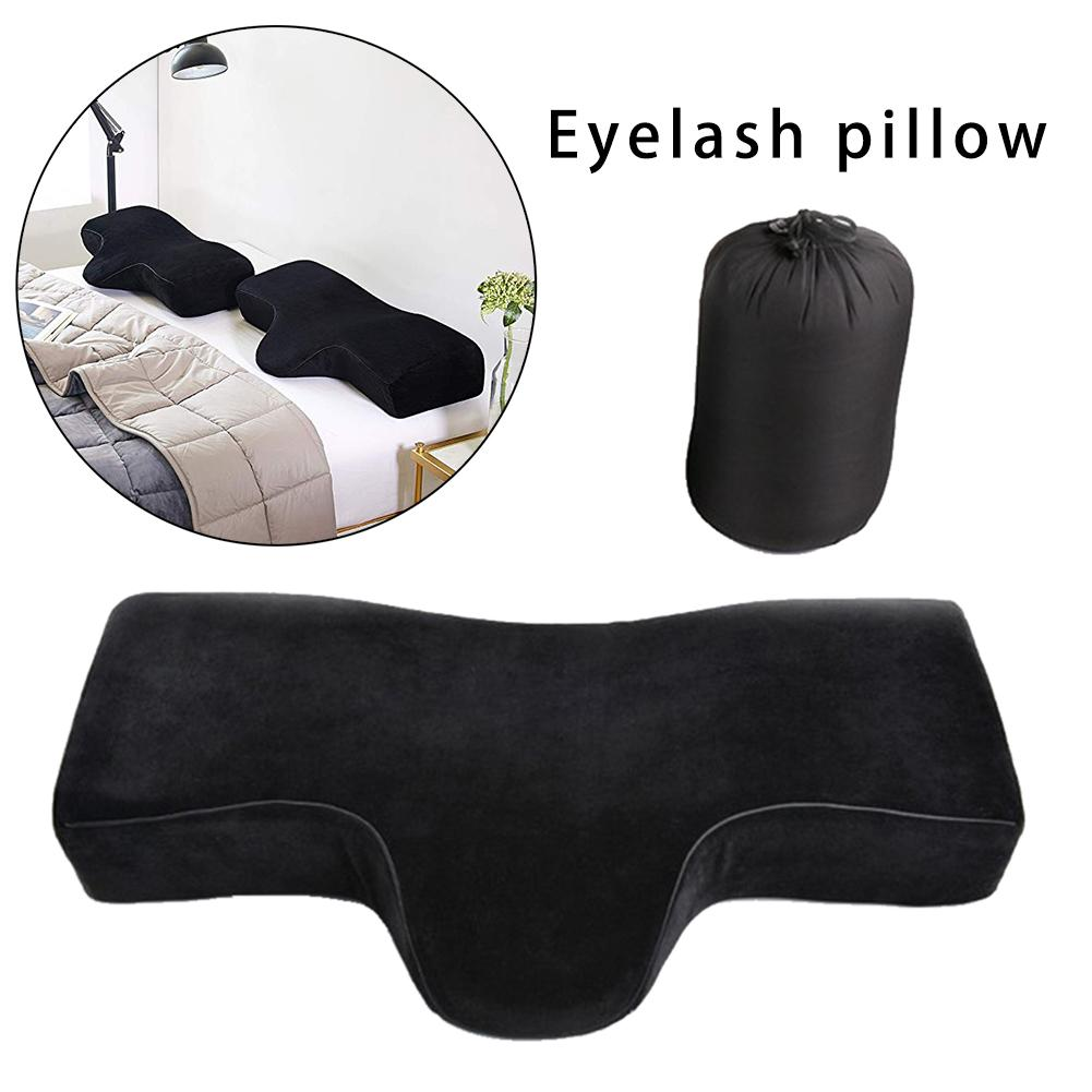 Professional Eyelash Extension Pillow Grafted Eyelashes Salon Use Memory Foam Lash Pillow Chronic Rebound Relieve Cervical Makeu