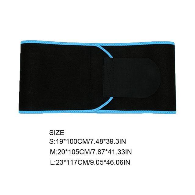 Waist Trainer Hot Sweat Belt Body Shaper Adjustable Warming Waist Protect Weight Fitness Belt 1