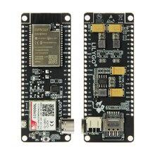 LILYGO®Ttgo t call v1.4 esp32 módulo sem fio sim antena sim cartão sim800l módulo