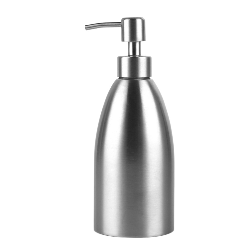 500ML Househld Stainless Steel Soap Dispenser Lotion Bottle Hand Sanitizer Bottle Shampoo Box Soap Container For Bathroom