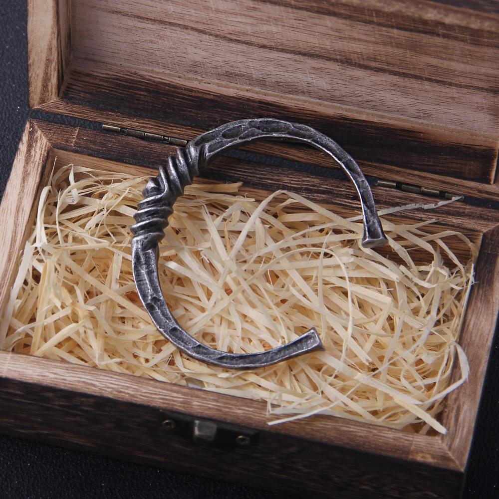Bracelet Viking Dragon argent vintage  2