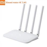Xiaomi Mi Router WIFI 4C 64 RAM 300Mbps 2.4G 802.11 b/g/n 4 Antenne Fascia router Wireless WiFi Ripetitore Mihome APP di Controllo