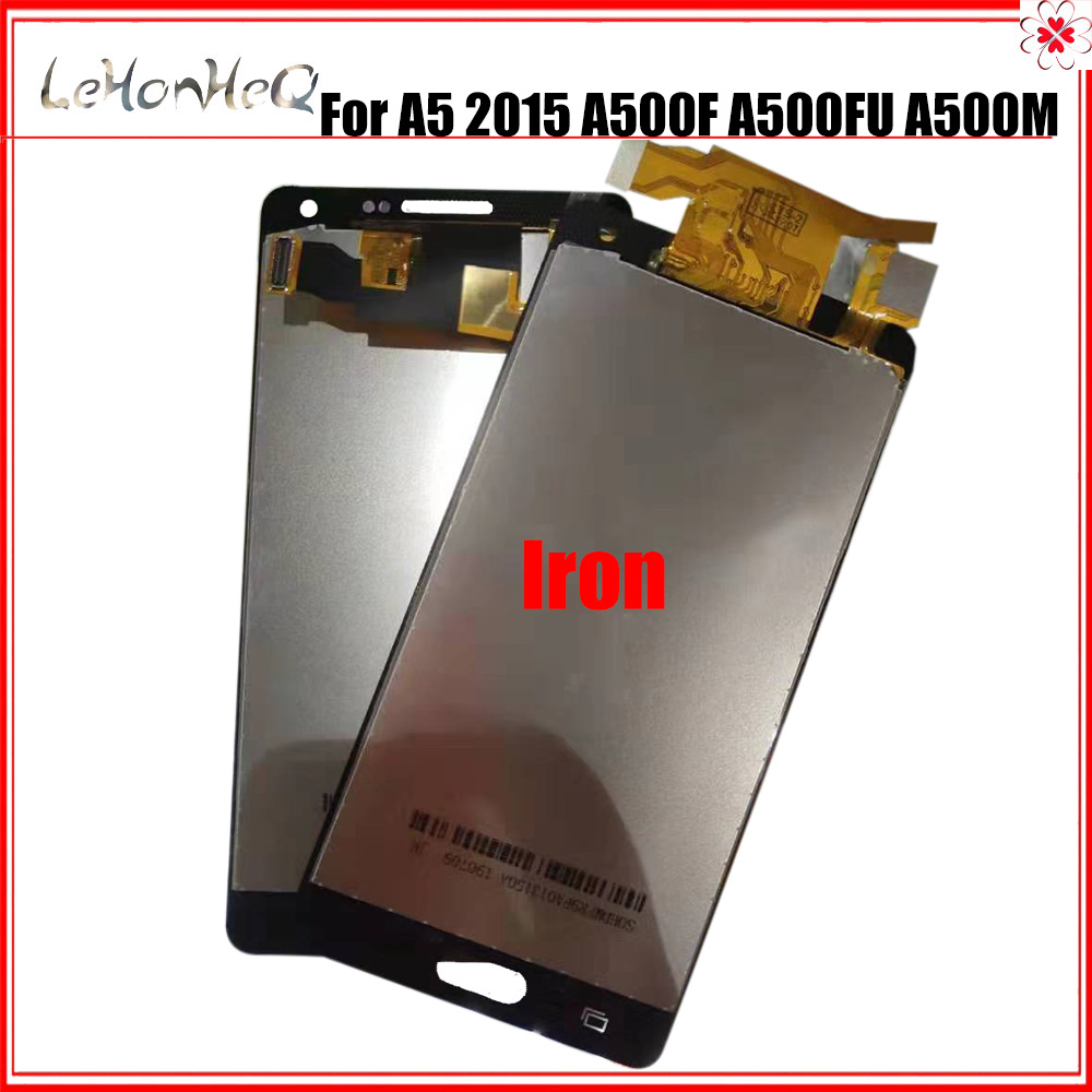 Iron Sheet TFT For <font><b>Samsung</b></font> <font><b>A500</b></font> Display For <font><b>Samsung</b></font> <font><b>Galaxy</b></font> <font><b>A5</b></font> 2015 <font><b>A500</b></font> A500f A500m <font><b>Lcd</b></font> Dispaly Touch <font><b>Screen</b></font> Digitizer Assembly image