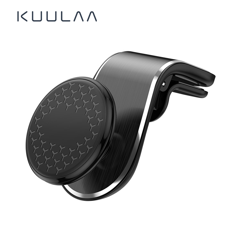 KUULAA 360 Rotati Car Phone Holder For Phone In Car Mobile Support Magnetic Phone Mount Stand Smartphones Suporte Telefone