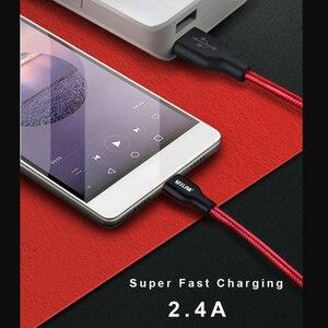Image 5 - VOXLINK 5 حزمة النايلون كابل يو إس بي ملولب TypeC كبل شحن سريع لسامسونج غالاكسي ل HTC 10 ماك بوك شاومي Mi8 A1 كابل شحن