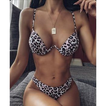 High Cut Bikini with Push-Up Top 32