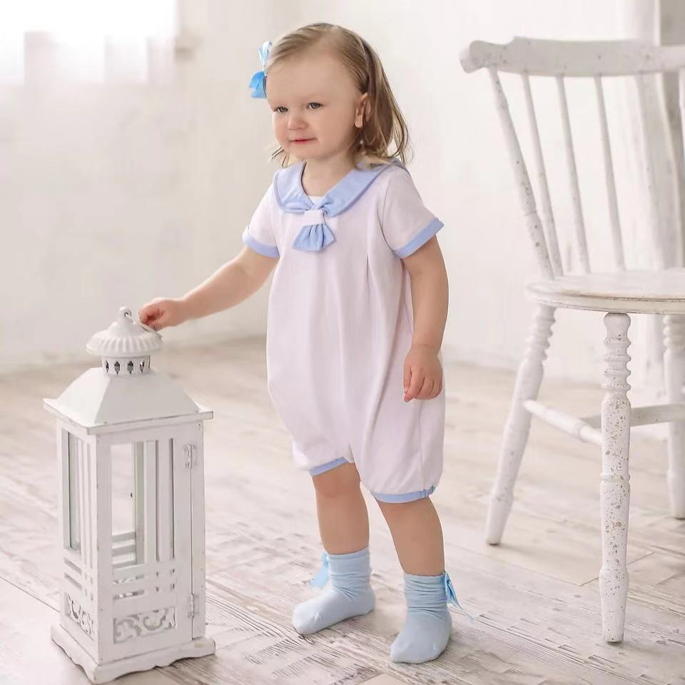 2019Summer Baby Spanish Quality Romper Children Cotton Soft Romper Newborn Baby  Baby Boy Romper New Born Baby Clothes