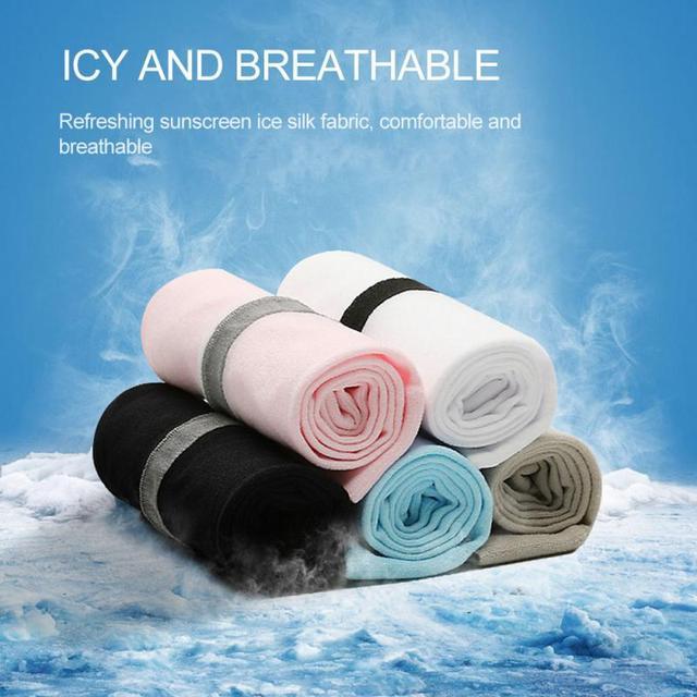 2 pçs mangas de braço unisex manga protetor solar proteção uv gelo legal ciclismo correndo pesca escalada condução braço capa 3