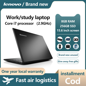 Lenovo Notebook Computer, light and thin portable i3 i5 i7 students office workers hand-held  only show game book play Ga 3