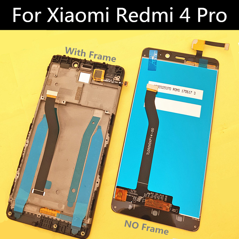 Tested! For Xiaomi Redmi 4 Pro LCD FOR Redmi 4 Prime 3GB RAM 32 ROM LCD Screen Display+Touch Screen Replacement Accessories