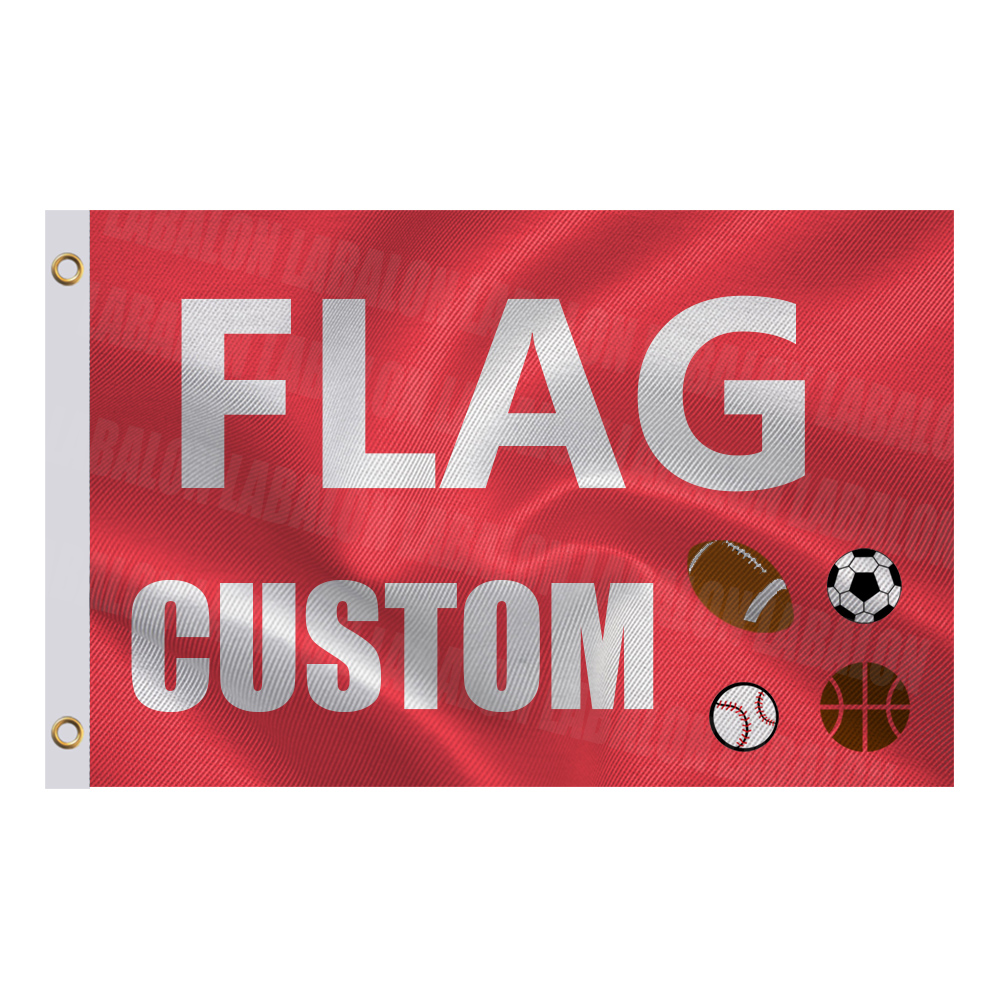 Custom Flag or Banner 3x5 FT 2x3 FT 2x8FT 100D Polyester Advertising Outdoor Indoor Any Design Size Image Custom Flag