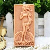 Grainrain Die Geburt der Venus Silikon Seife Bar Form Handgemachte Handwerk Kerze Harz Form