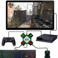 Gamepad Controller Converter For PS4 Keyboard Mouse Adapter Xbox One Nintend Switch Emulator Support FPS Game Handle Accessories