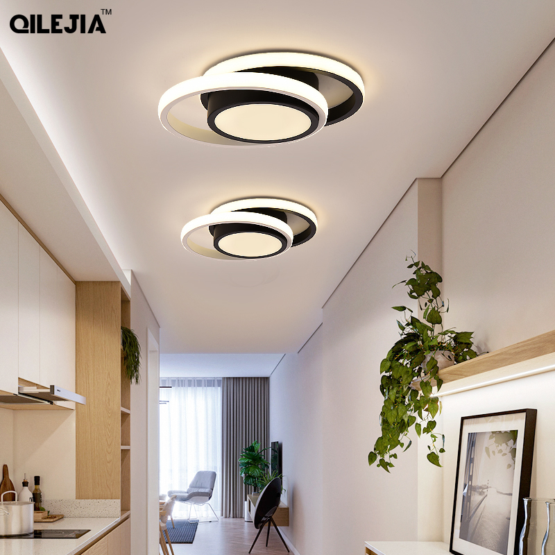 Modern LED ceiling lights for kitchen corridor night corridor balcony entrance Round   square modern LED ceiling lamp for home