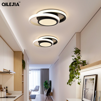 Modern LED ceiling lights for kitchen corridor night balcony entrance Round / square modern lamp home
