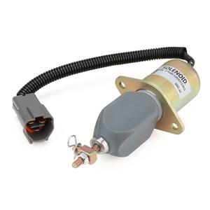 Image 3 - 1751ES 12A3UC12B1S R60 5 Arresto Del Combustibile Solenoide per Hyundai Escavatore Yanmar 12V YC101632