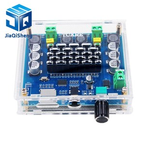 Image 5 - XH A105 Bluetooth 5.0 TDA7498 דיגיטלי מגבר לוח 2x100W רמקול סטריאו אודיו AMP מודול תמיכה TF כרטיס AUX