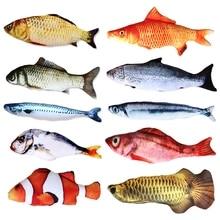Cat Toy Pet-Toy Training-Supplies Catnip Fish-Shape Creative Legendog Bite-Resistant