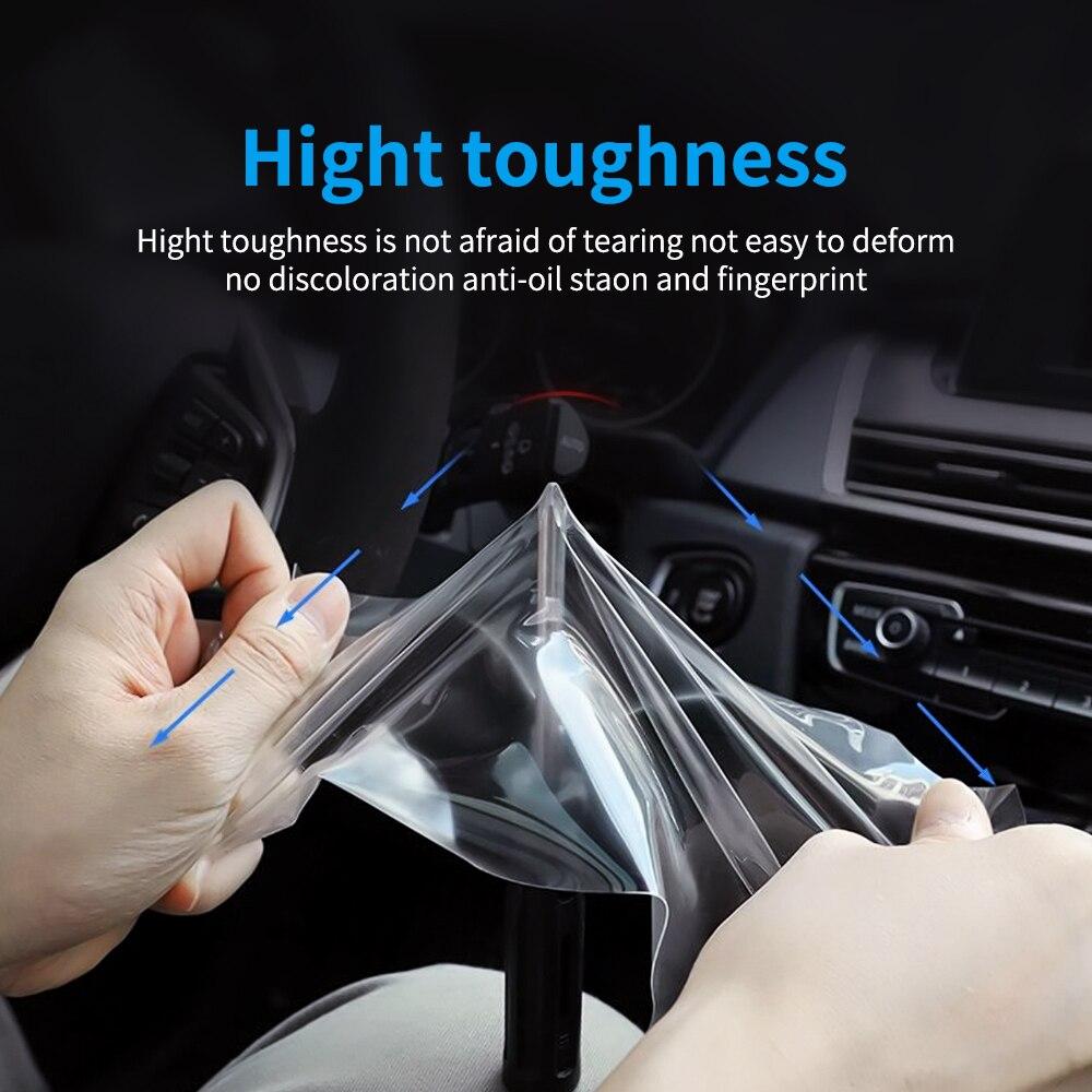 ТПУ автомобильный экран протектор для Citroen C5 Aircross HD Прозрачная Автомобильная gps навигация защитная пленка TPU авто интерьер автомобиля аксессуары
