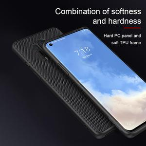 Image 3 - for oneplus 8 pro Case Cover NILLKIN textured pattern matte hard soft back cover Mobile phone black shell for oneplus 8 pro
