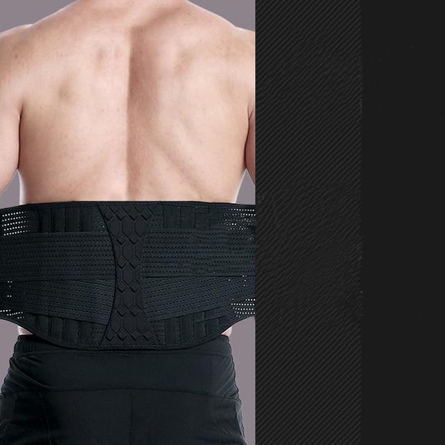 Waist Trimmer Trainer Fitness Gear Utility Belt Adult Sweet Sweat Fajas Lumbares Hombre Sport Belt Workout Back Support Brace 4