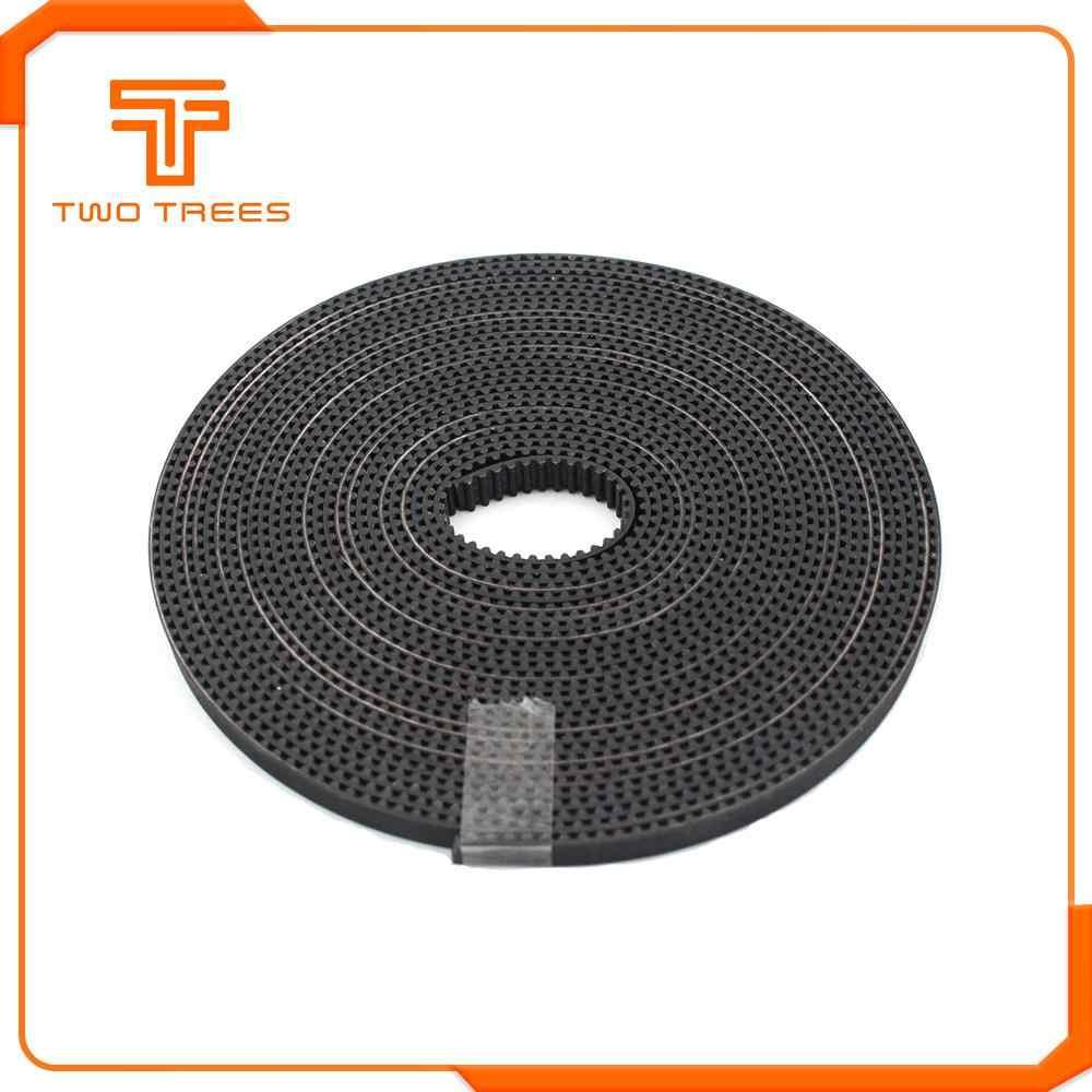 5 m/grup GT2-6mm açık zamanlama kemeri genişliği 6mm GT2 kemer kauçuk fiberglas kesim için 3D yazıcı toptan