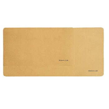 Office Learning Natural Cork Log Color Mouse Pad Skin Feeling Honeycomb Structure Waterproof Non-Slip Antifouling