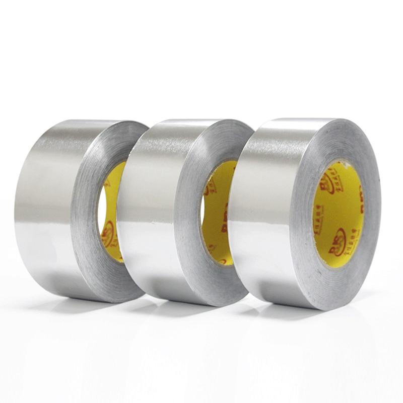 Водостойкая уплотнительная лента TSLM2, водостойкая клейкая лента из алюминиевой фольги, 20 м Лента      АлиЭкспресс