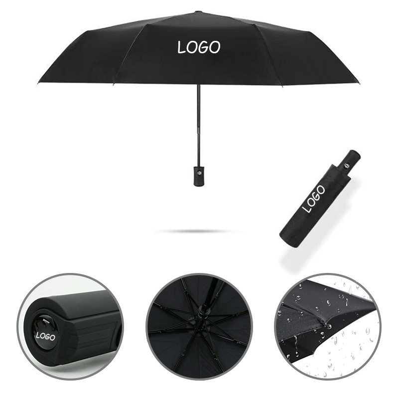 High Quality Car Auto Sun Rain Universal Business Affairs 3Folding Outdoor Automatic Umbrella For Jeep All Models Car Gadgets