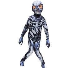 Костюмы на Хэллоуин для детей новинка Детский костюм комбинезон