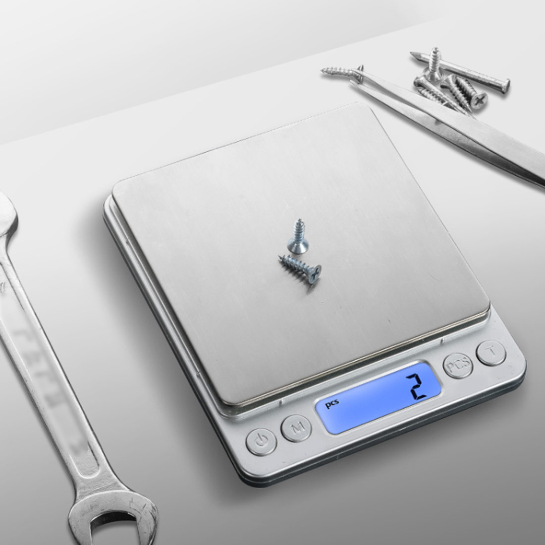 3/5/10kg 1g Household Kitchen Scale Electronic Food Scales Diet Scales Measuring Tool Slim LCD Digital Electronic Weighing Scale