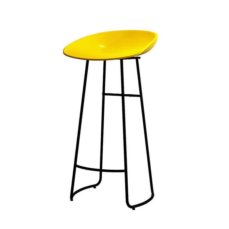 Nordic Bar Chair Modern Simple High Stool Domestic Bar Stool Bar Stool Front Desk High Stool High Stool Bar Chair