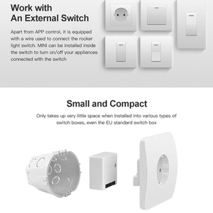 Image 2 - Sonoff Mini DIY Smart Switch Small Size Remote Control Home Appliance Light Lamp Wifi Switch
