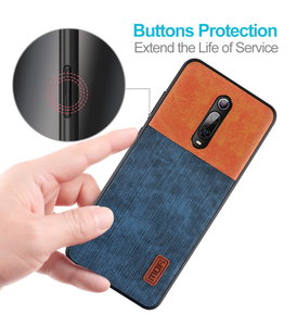 Image 5 - Mofi For Xiaomi Mi 9T Pro Case Luxury Silicone Back Cover Mi9T Phone Case For Redmi K20 Silicone shockproof jeans PU leather