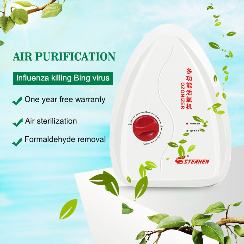 Stehen Air Purifier To Remove Influenza Virus, Fruit And Vegetable Detoxification Machine, Formaldehyde Removal Ozone Machi