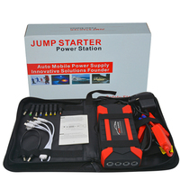 Portable 89800mAh Car Jump Starter Power Bank Booster Charge Cell 4 USB Starting Device Charge Pal Lamp Car Battery Splitter