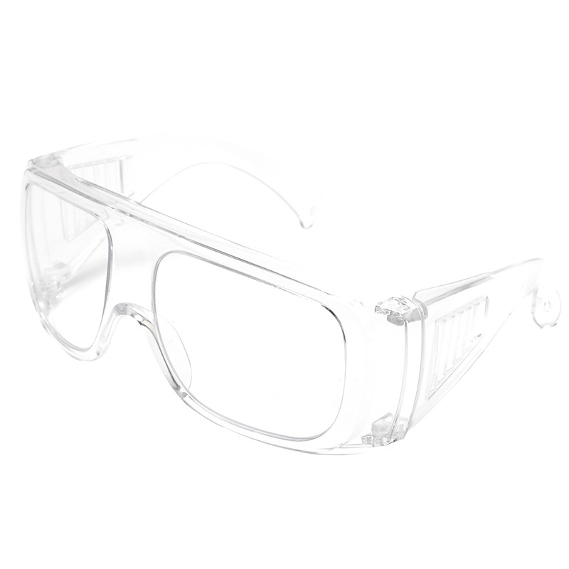 Anti-Fog Goggles Transparent Labor Protection Glasses Anti-Spitting Splash Breathable Can Be Equipped With Anti-Blue Light