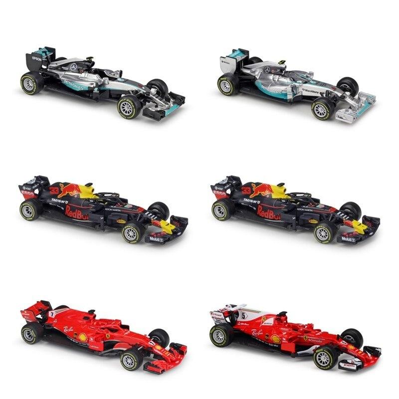 Modelo de coche Diecast 1:43 Bburago F1 2019, 2018, carreras, Ferris SF90, SF71H, SF70H, SF16H, RedBull, Honda, RB15, RB14, RB13, RB12, Benz, W07, W10