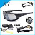 Поляризованные очки Daisy X7 C5  мужские тактические солнцезащитные очки для охоты  стрельбы  Походов  Кемпинга  защиты UV400