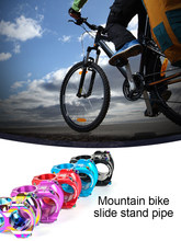 Mtb 35mm haste cnc 31.8mm guiador da bicicleta ultraleve 0 graus de aumento fr am enduro 28.6mm steerer mountain bike peças