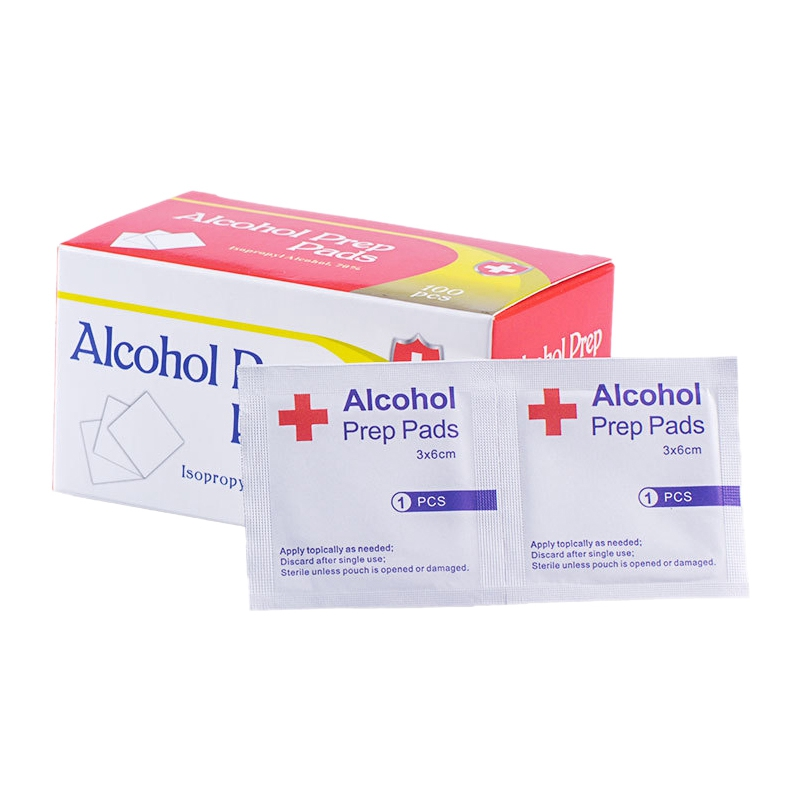 400Pcs/Lot Alcohol Prep Swap Pad Wet Wipe For Antiseptic Skin Cleaning Care Jewelry Mobile Phone Tool Alcohol Pads