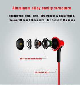 Image 3 - D3 earphone Wired headset with noise cancellation and microphone comfortable stereo  for xiaomi iPhone sony