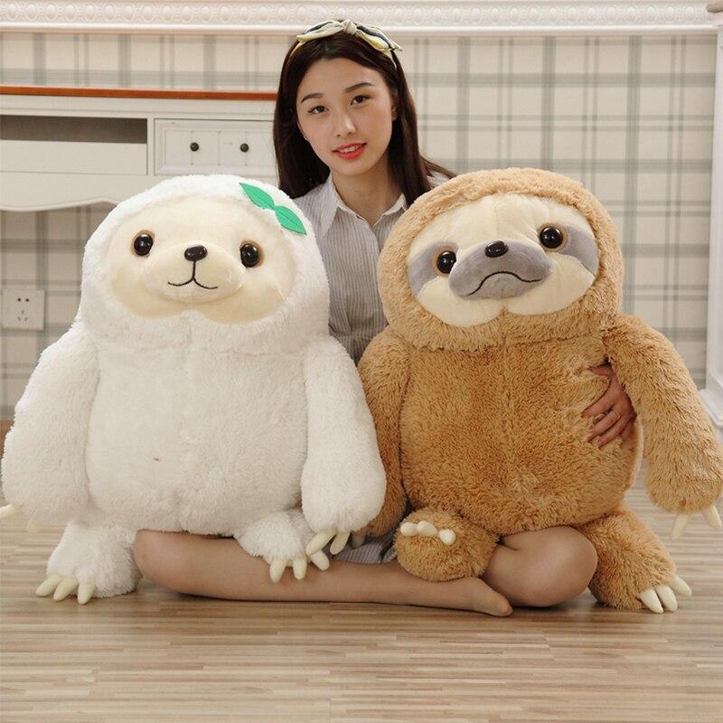 40-70cm Simulation Sloth Fill Animal Plush Toy Doll Kawaii Sloth Doll Boy And Girl Cute Doll,Birthday Gift, Christmas Decoration