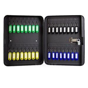 Image 3 - 20/28/36 مفاتيح صندوق تخزين مزيج مفتاح قفل متعددة مفاتيح تصنيف المنظم صندوق الأمان للمنزل مكتب مخزن مصنع