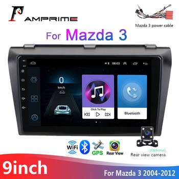 AMPrime 9 2 din Android Car Radio Multimedia Player 2 Din Video MP5 Player auto Stereo GPS Bluetooth WIFI Audio For Mazda 3 image
