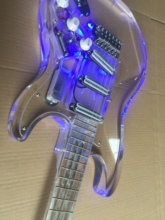 Electric Guitar/Acrylic Crystal Personality High Quality Guitar/Anmiyue Customizable Chinese Electric Guitar все цены